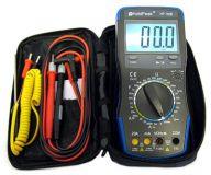 Multimeter mit Digitalanzeige und Fehlbedienungssperre
